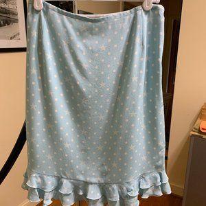 Blue & white Escada skirt sz 36